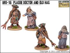 Plague Doctor and Old Hag