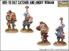 Rat Catcher and Angry Woman