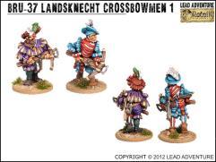 Landsknecht Crossbowmen #1