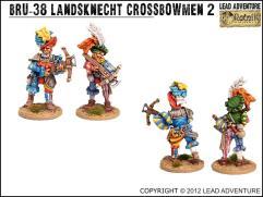 Landsknecht Crossbowmen #2