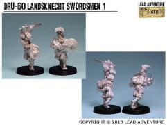 Landsknecht Swordsmen #1