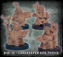 Lorekeeper and Novice