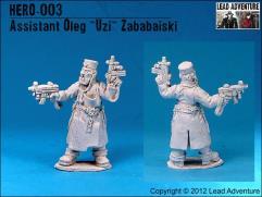 Assistant Oleg 'Uzi' Zababaiski