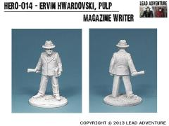 Ervin Hwardovski, Pulp Magazine Writer