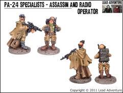 Specialists - Assassin and Radio Operator