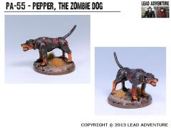 Pepper, The Zombie Dog