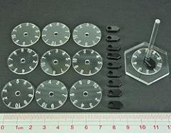 Numbered Dials & Pointers - 1-10 (10)