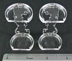 Flying Figure Stands - 25mm Round (2)