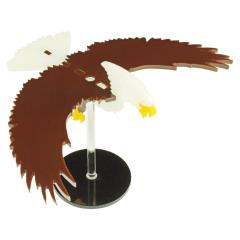 "Flying Eagle Character Mount w/2"" Circular Base"