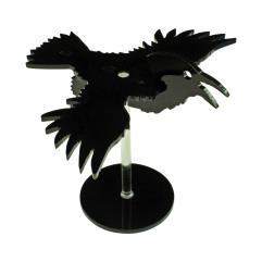 "Flying Raven Character mount w/2"" Circular Base"