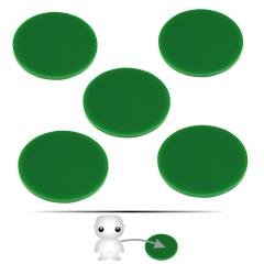 "2"" Pop Culture Figure Stand - Green"