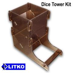 Translucent Bronze Dice Tower