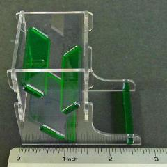 Mini Dice Tower - Translucent Green