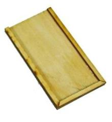 Heavy Duty Movement Tray - 80x160mm