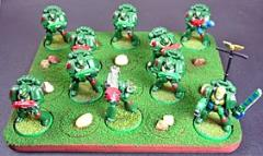 Skirmish Tray - 20 Figures, 25mm Round Bases