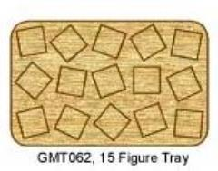 Skirmish Tray - 15 Figures, 20mm Square Bases