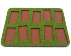 Skirmish Tray - 10 Figures, 25x50mm Bases