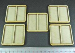 Skirmish Tray - 2 Figures, 25x50mm Bases