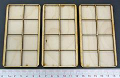 Skirmish Tray - 8 Figures, 25mm Square Bases