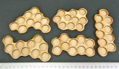Horde Trays - 10 Figures, 20mm Round Bases (5)