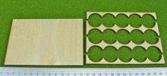 Rank Tray - 5x3 Formation, 25mm Bases