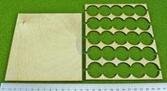 Rank Tray - 5x5 Formation, 25mm Bases