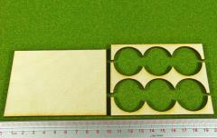 Rank Tray - 3x2 Formation, 30mm Round Bases
