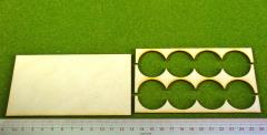 Rank Tray - 4x2 Formation, 30mm Round Bases