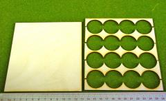 Rank Tray - 4x4 Formation, 30mm Round Bases