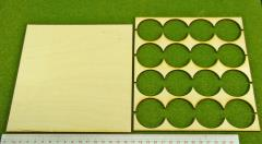 Rank Tray - 4x4 Formation, 40mm Round Bases