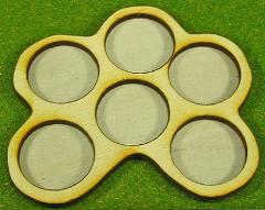 Horde Trays - 6 Figures, 25mm Round Bases