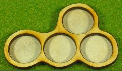 Horde Trays - 4 Figures, 20mm Round Bases