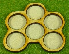 Horde Trays - 6 Figures, 20mm Round Bases