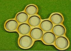 Horde Trays - 12 Figures, 20mm Round Bases