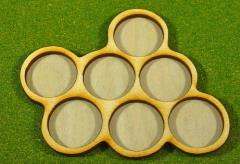 Horde Trays - 7 Figures, 25mm Round Bases