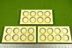 Ring War Infantry Tray - 8 Figures, 20mm Round Bases