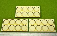 Ring War Infantry Tray - 8 Figures, 25mm Round Bases