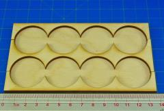 Rank Tray - 4x2 Formation, 32mm Round Bases