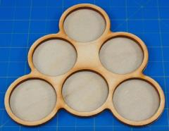 Horde Trays - 6 Figures, 32mm Round Bases
