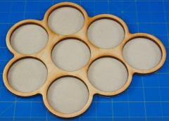 Horde Trays - 8 Figures, 32mm Round Bases