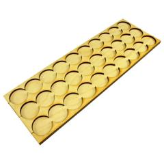 25mm Rank Tray- 10x3