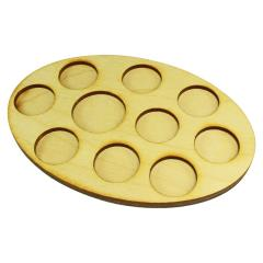 104x152mm Oval Command Tray