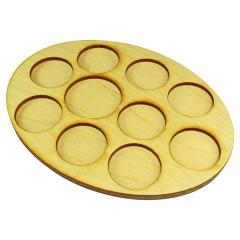 126x167mm Oval Command Tray