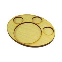 97x122mm Oval Support Tray