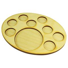 126x167mm Oval Support Tray