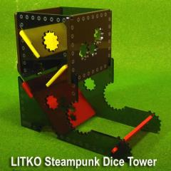 Steampunk Dice Tower