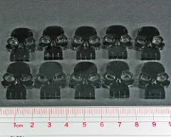 Skull Tokens - Transparent Grey