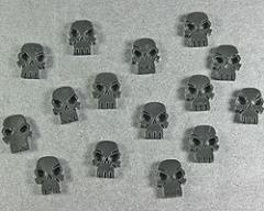 Mini Skull Tokens - Black