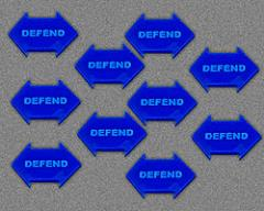 Defend - Blue