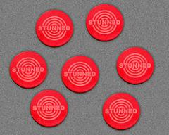 Stunned Tokens - Red